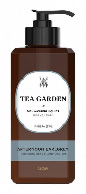 "LION Средство для мытья посуды Chamgreen Tea Garden ""Бергамот"", флакон, 500 гр"
