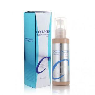 Collagen Moisture Foundation SPF 15 Крем тональный с увлажняющим эффектом № 21 (Светлый бежевый), 100 мл