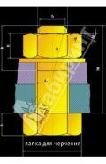 Папка для черчения, А4, 20 л. (арт. 56147)