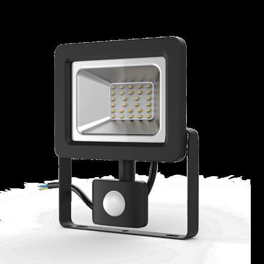 Прожектор светодиодный Gauss LED 30W IP65 6500К с датчиком движения