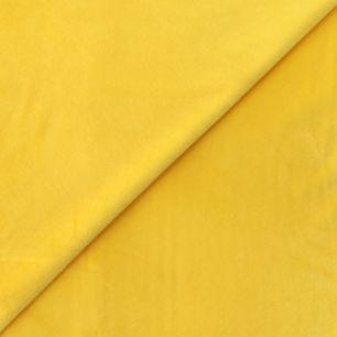 Велюр (плюш) хлопок - желтый 50х40