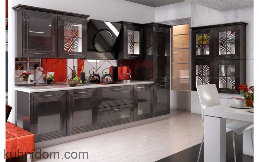 Кухня VIVA Черная