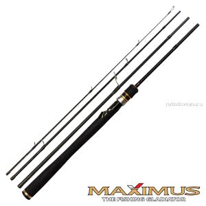 Спиннинг Maximus Smuggler Travel 2,1м / тест 3-14гр (Артикул: MTRCS21L + Тубус )