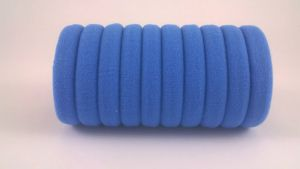 Резинка для волос бесшовная 3 см, цвет № 23  (1уп = 24шт)