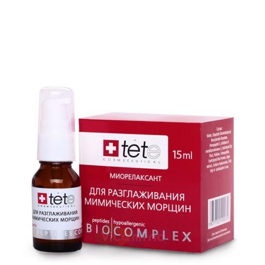 TETe Биокомплекс-миорелаксант для разглаживания мимических морщин