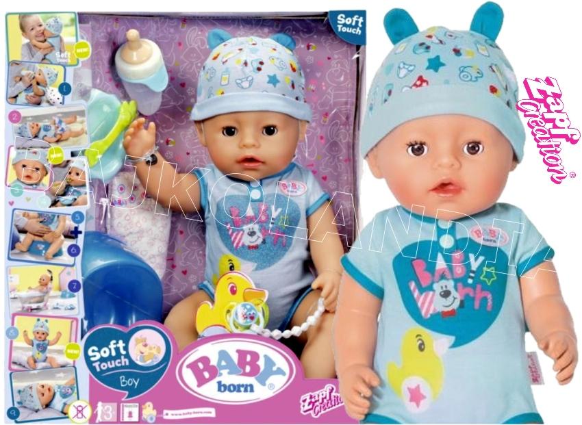 Кукла Baby Born Очаровательный малыш 824375