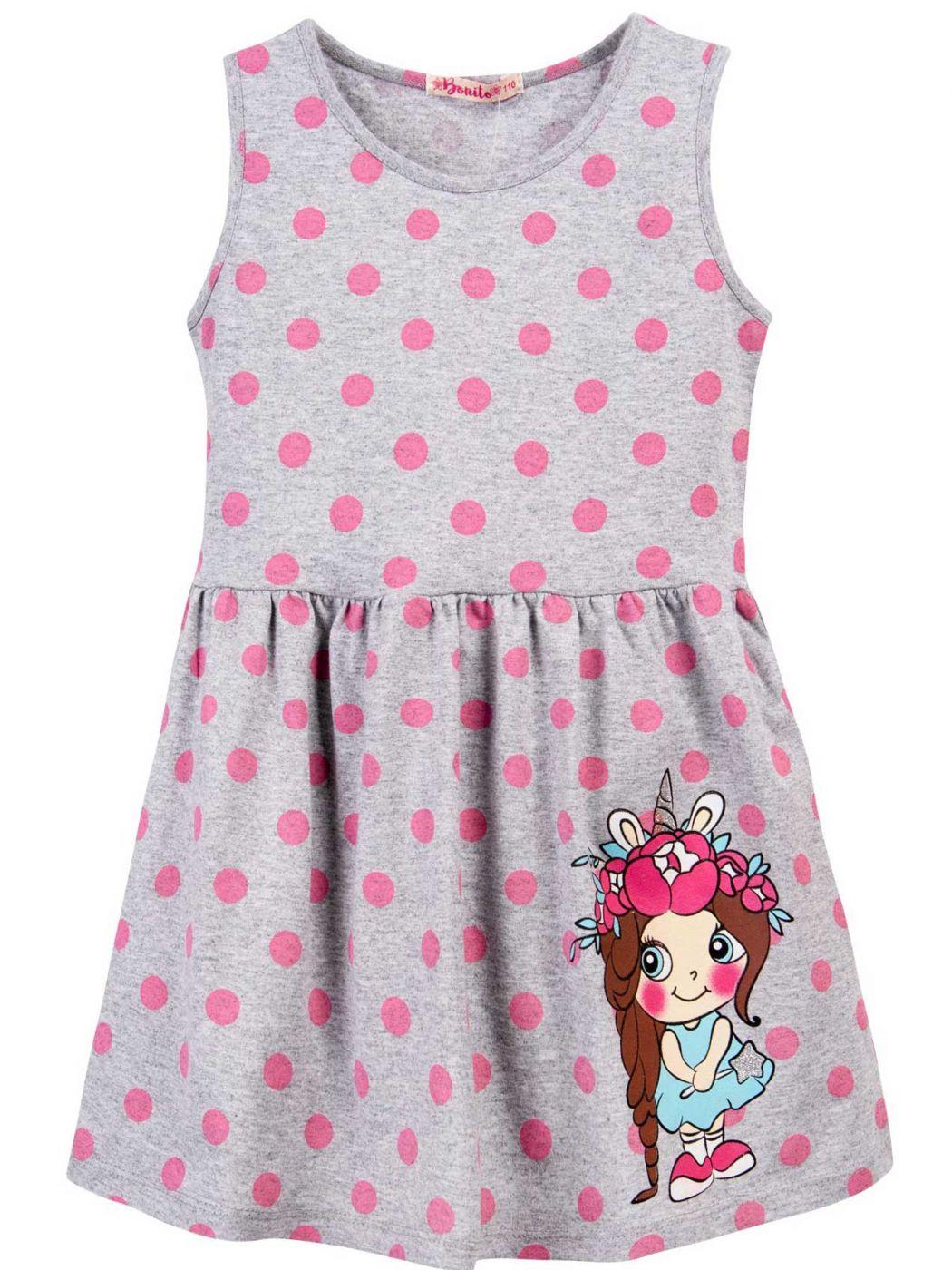 Платье для девочки 3-7 лет Bonito BJ1172P3