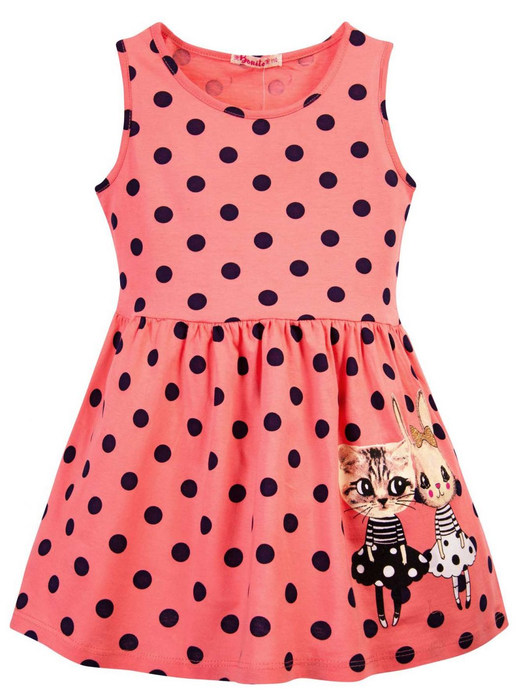 Платье для девочки 3-7 лет Bonito BJ1172P4