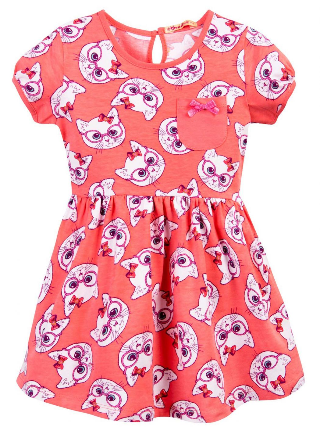 Платье для девочки 3-7 лет Bonito BJ1174P4
