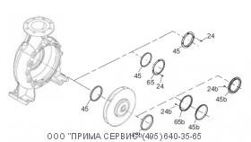 96810102тЩелевое уплотнение D100/D114x10 BZ (96810102)