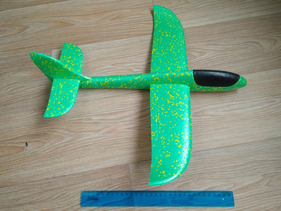 Самолетик-планер пенопластовый