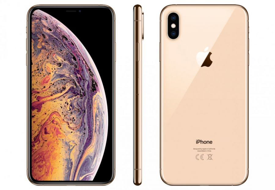 Смартфон Apple iPhone Xs Max 64GB Gold  (WT522RU/A)