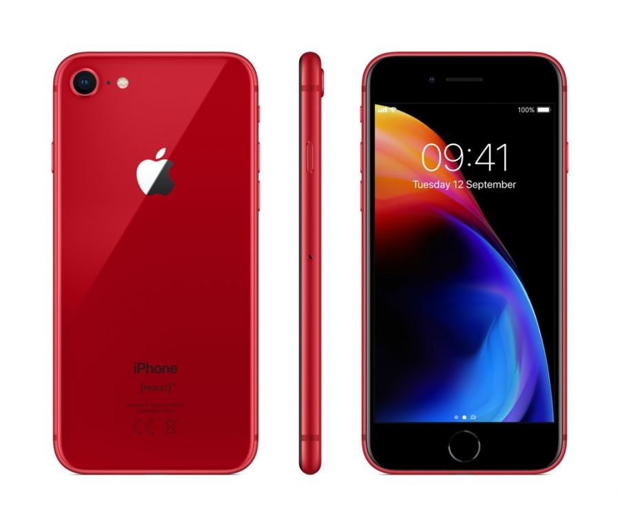 Смартфон Apple iPhone 8 256GB LTE Red