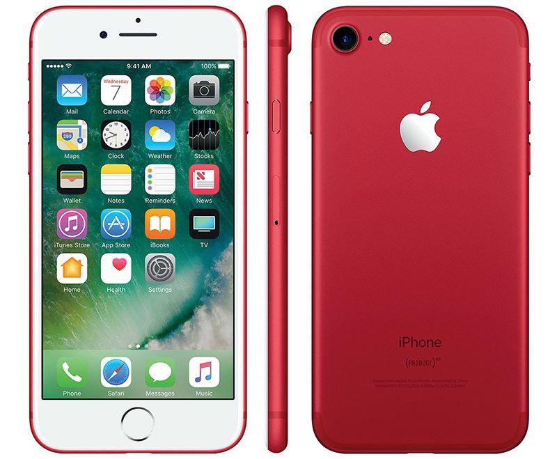 Смартфон Apple iPhone 7 128GB LTE Red
