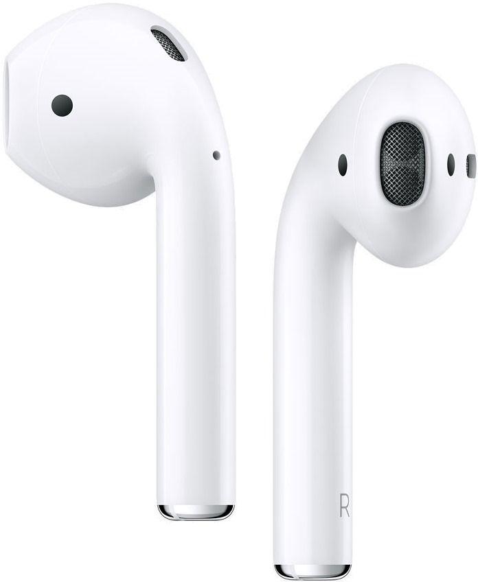 Беспроводные наушники Apple AirPods 2 White (MRXJ2) (с беспроводной зарядкой чехла)
