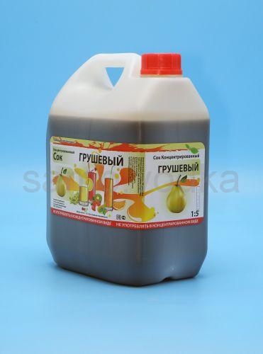 Сок грушевый концентрированный 5 кг