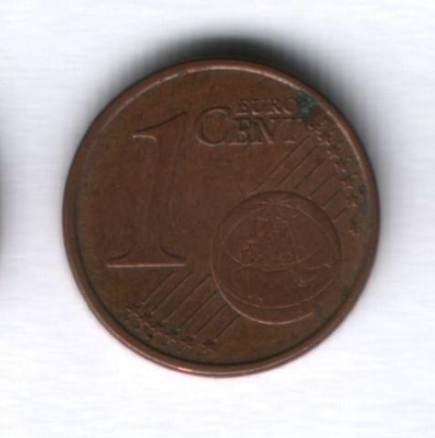 1 евроцент 2002 года Италия