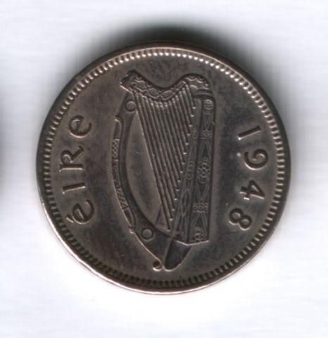 3 пенса 1948 года Ирландия, редкий год