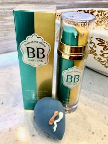 Двухфазный BB Cream + Primer база под макияж Natural Flawless Baby Skin 25гр+25гр