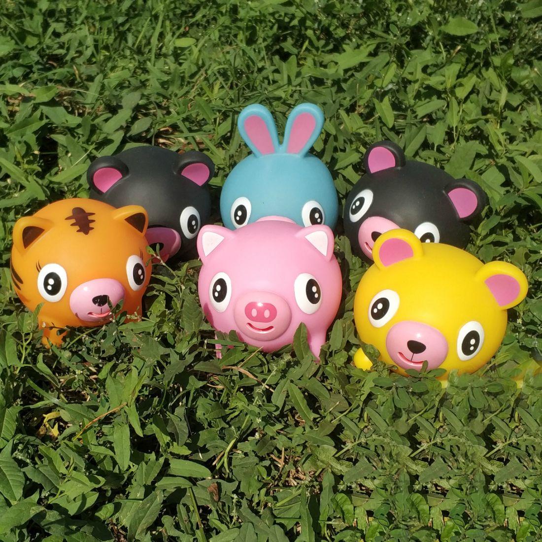 Резиновая  игрушка Дразнюка Zooкa в ассортименте, 13 см