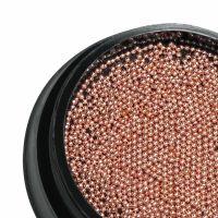 Бульонки металлические PNB Professional Pink Gold (розовое золото) 0,6мм/(4 грамма)