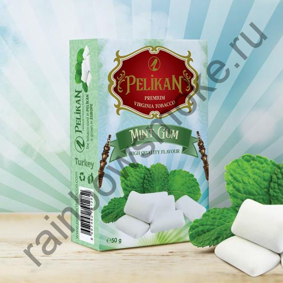 Pelikan 50 гр - Mint Gum (Мятная Жвачка)