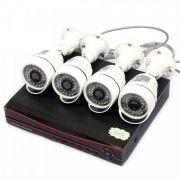 Комплект видеонаблюдения на 4 уличные камеры K3904