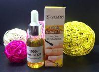 Salon масло для кутикулы натуральное, 15 мл