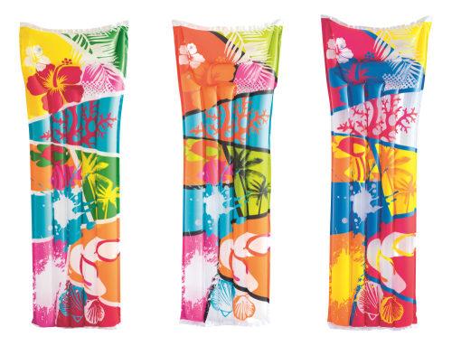 Надувной матрас для плавания яркий 183 х 69 см 3 дизайна в ассортименте