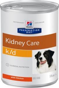 Hill's prescription diet canine k/d 12/370g