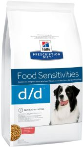 Hill's Canine PD d/d Salmon & Rice 2KG