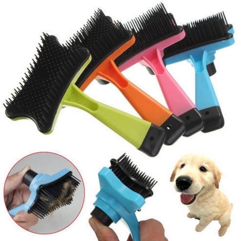 Самоочищающаяся щётка для животных Pet Grooming