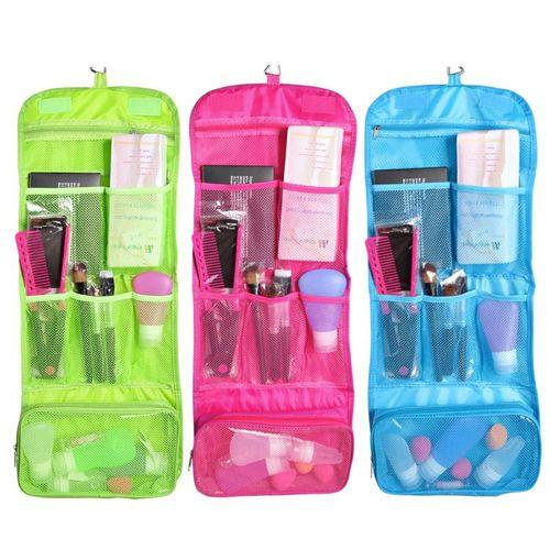 Дорожная сумка для гигиенических принадлежностей Travel Storage Bag, цвет розовый.