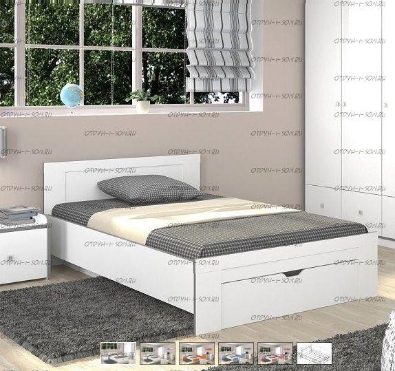 Кровать Дельта-19.2 Сильвер (120Х200)