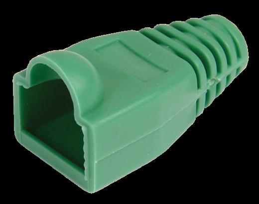 ITK Колпачок изолирующий для разъема RJ-45, PVC, ЗЕЛЕНЫЙ