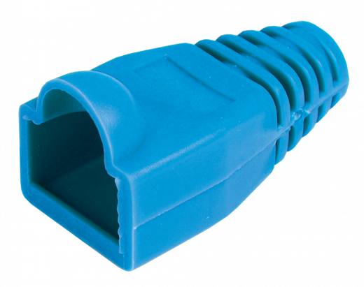 ITK Колпачок изолирующий для разъема RJ-45, PVC, СИНИЙ