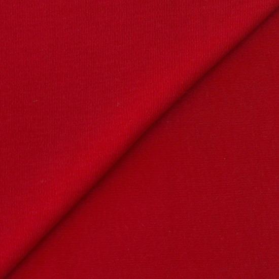 Лоскут трикотажной ткани Красный