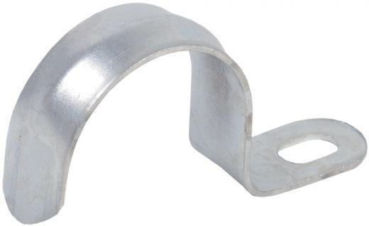 Скоба металлическая однолапковая d10-11мм