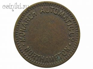 Великобритания токен Monarch Automatic Northampton