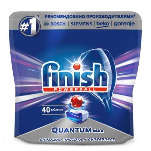 Qabyuyan maşın üçün tabletkalar Finish Quantum Max (40 əd.)