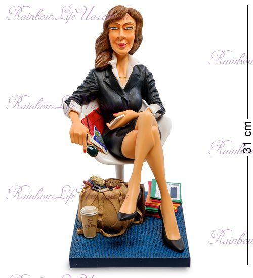 "Статуэтка Бизнес-леди ""The Businesswoman. Forchino"""