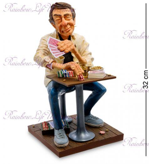 """Статуэтка Мистер Покерфейс """"Mr. Poker Face. Forchino"""""""