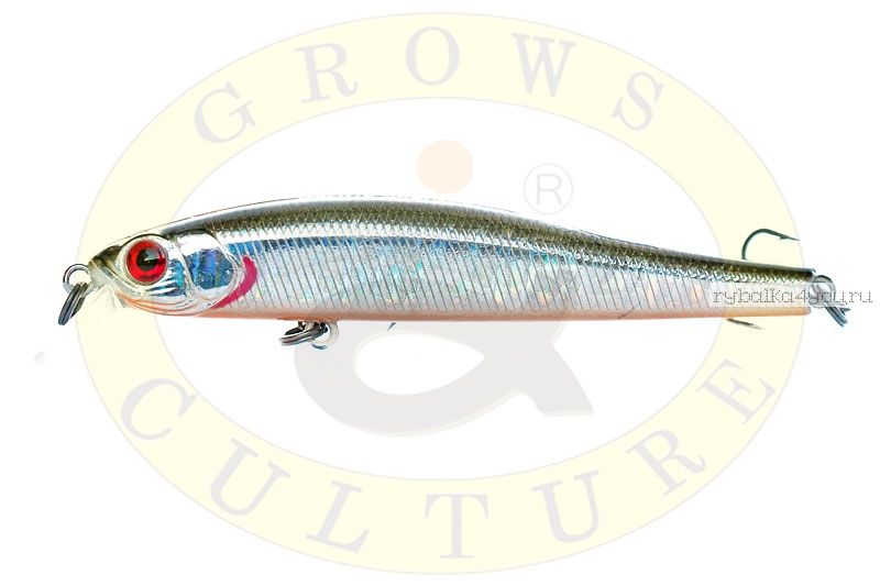 Воблер Grows Culture Rige 90F 90мм/  9,5гр/ цвет:  027R