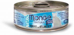 Monge Cat Natural консервы для кошек атлантический тунец 80 гр.