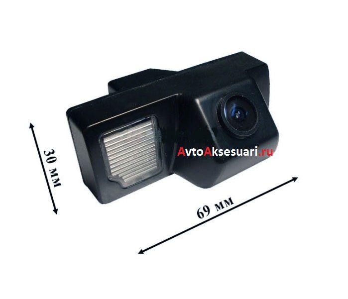 Камера заднего вида для Toyota Land Cruiser (200) 2008+