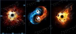 Футбольные мячи футер 2-х нитка