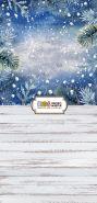 """Фон """"New year №10"""" 3x1,5 (3,5x1,5 м)"""