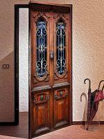 Наклейка на дверь - Без стука не открывать | магазин Интерьерные наклейки