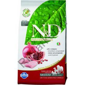 N&D Chicken & Pomegranate Adult-Курица, гранат. Полнорационный корм для взрослых собак.