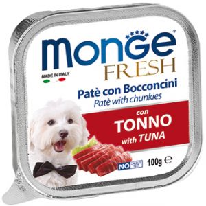 Monge Dog Fresh консервы для собак тунец 100 гр.